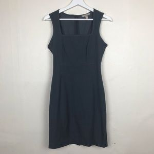 Banana Republic Grey Sleeveless Cocktail Dress